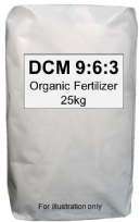 DCM 9:6:3 Organic Fertilizer 25 kg